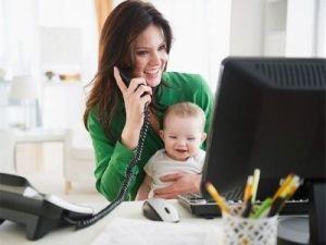 Vállalkozás kisgyerek mellett