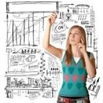 vállalkozó nő
