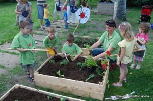 A legnagyobb siker: megszerettetni a gyerekekkel a kertészkedést