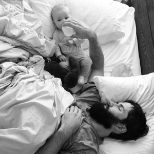 apa alszik